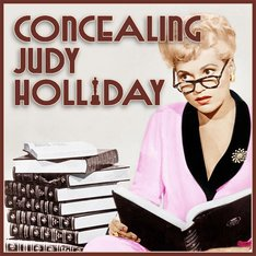 LOGO CONCEALING JUDY HOLLIDAY