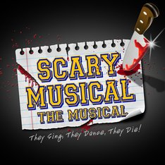 logo scary musical